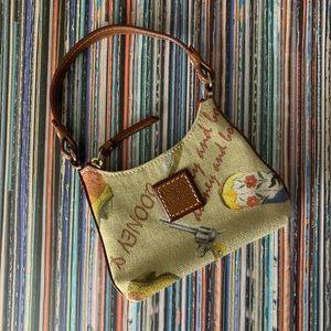 Mini Dooney & Bourke Handbag Cowgirl Boots Pistol